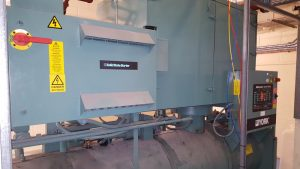 Decommissioning of old generator at the Northwood project (1)