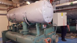 Decommissioning of old generator at the Northwood project (2)