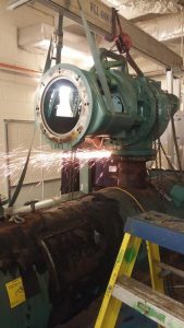 Decommissioning of old generator at the Northwood project (6)