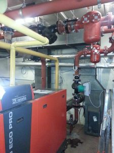 Installation of 380kw boilers at Capital House, Edgware Road, London (3)