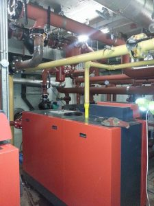 Installation of 380kw boilers at Capital House, Edgware Road, London (4)