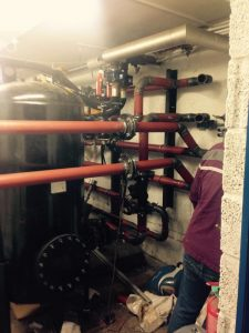 New boilers and pipework, hot water and heating for Nursing Home, Littlehampton (2)