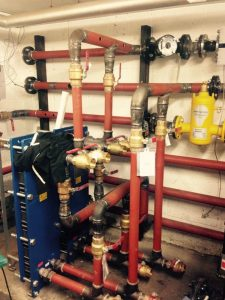 New boilers and pipework, hot water and heating for Nursing Home, Littlehampton (3)