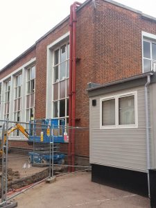 Replacement of heating pipework at Dulwich College (3)