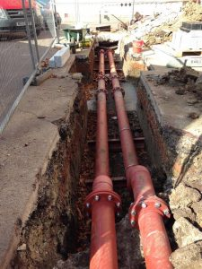 Replacement of heating pipework at Dulwich College (4)