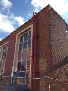 Replacement of heating pipework at Dulwich College (6)