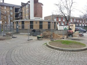 Final re-instatement at Priory Green, North London (1)